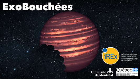 This artist's conception illustrates the brown dwarf named 2MASSJ22282889-431026. NASA's Hubble and Spitzer space telescopes observed the object to learn more about its turbulent atmosphere. Brown dwarfs are more massive and hotter than planets but lack the mass required to become sizzling stars. Their atmospheres can be similar to the giant planet Jupiter's.   Spitzer and Hubble simultaneously observed the object as it rotated every 1.4 hours. The results suggest wind-driven, planet-size clouds.  Image credit: